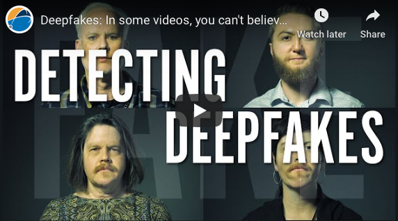 Los Angeles: Deepfakes: In some videos, you can't believe your eyes
